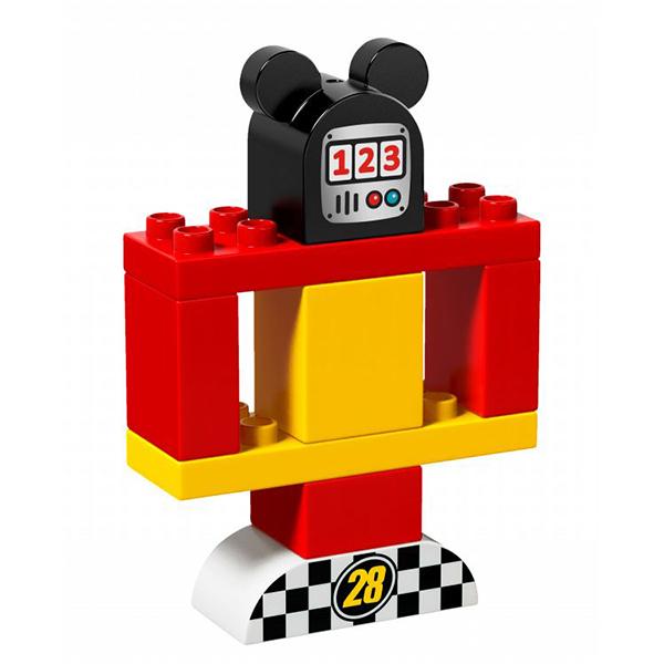 Lego Duplo 10843 Конструктор Гоночная машина Микки