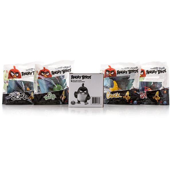 Angry Birds 90509 Энгри Бердс Набор из 4 сердитых птичек (в ассортименте)