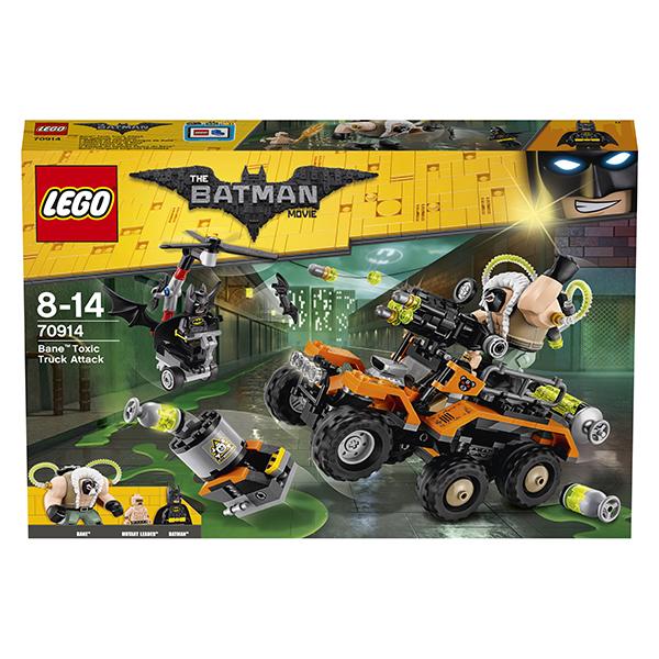 Lego Batman Movie 70914 Конструктор Лего Фильм Бэтмен: Химическая атака Бэйна