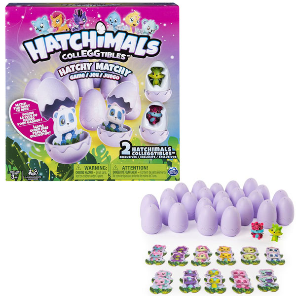 Hatchimals 34602 Хетчималс Настольная игра Memory + 2 коллекционные фигурки 1pcs lot em4305 rfid tag blank card thin pvc card read and write writable readable rfid 125khz smart card