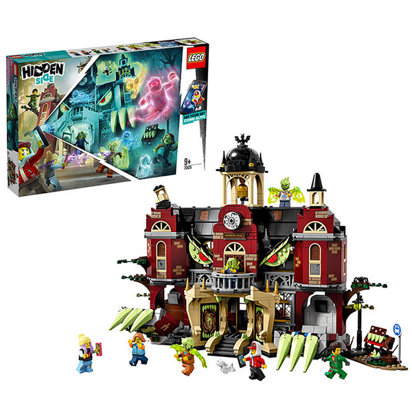 LEGO Hidden Side 70425 Конструктор ЛЕГО Школа с привидениями Ньюбери