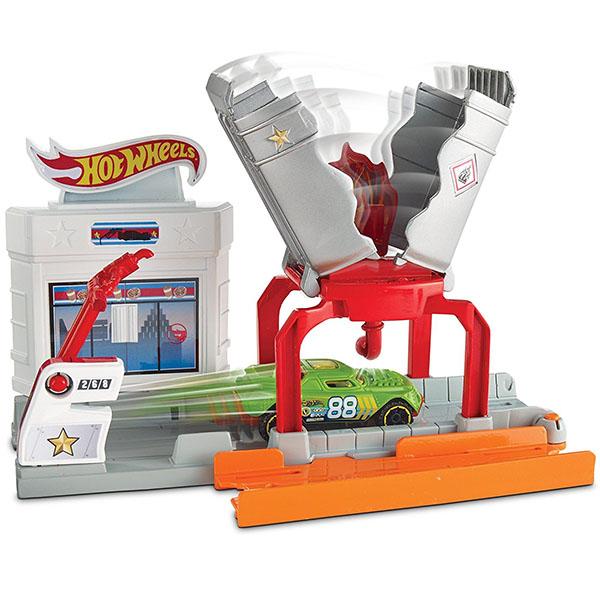 Mattel Hot Wheels DWL01 Игровой набор Взрывная трасса цена 2017