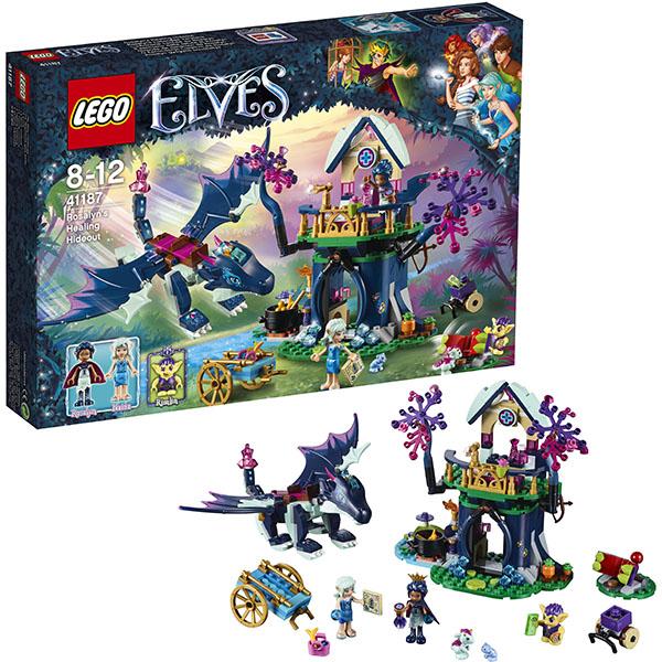 Lego Elves 41187 Лего Эльфы Тайная лечебница Розалин lego 8 lego elves 41077 лего эльфы летающие сани эйры