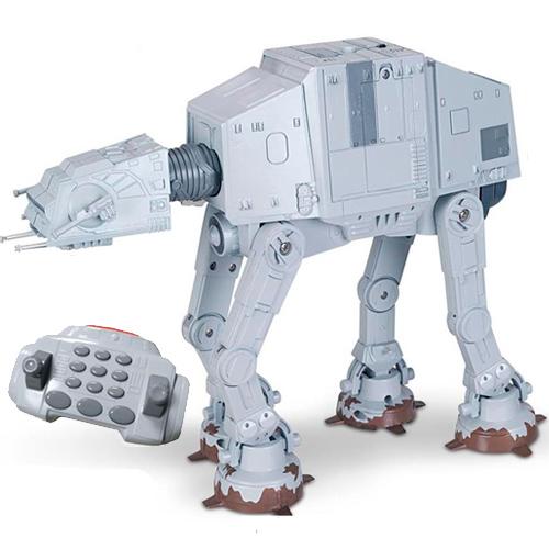 Радиоуправляемая игрушка Star Wars 31065 Звездные Войны Боевая машина-шагоход AT-AT, 25 см со звук. и свет. эффектами