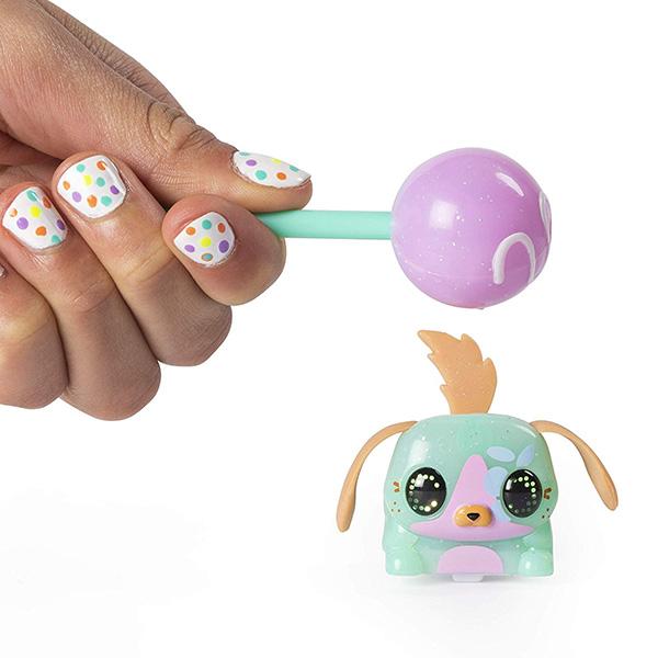 Zoomer 6045467 Зумер Лоллипетс набор из двух электр. игрушек (управляй зверьком с помощью сладости) стоимость