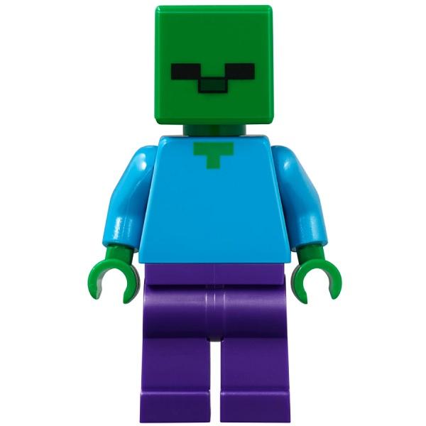 LEGO Minecraft 21141 Конструктор ЛЕГО Майнкрафт Пещера зомби