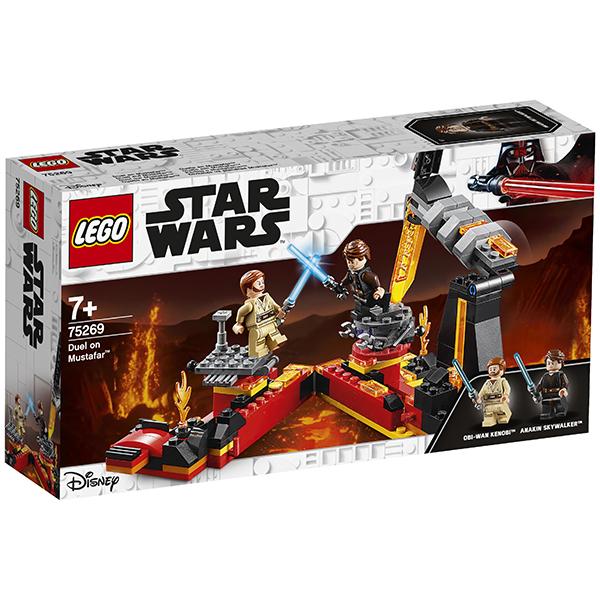 LEGO Star Wars 75269 Конструктор ЛЕГО Звездные войны Бой на Мустафаре