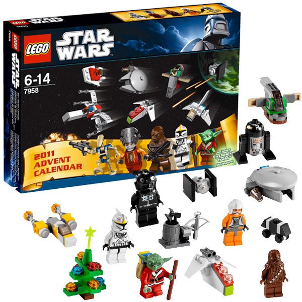 Lego Star Wars 7958 Конструктор Лего Звездные войны Новогодний календарь