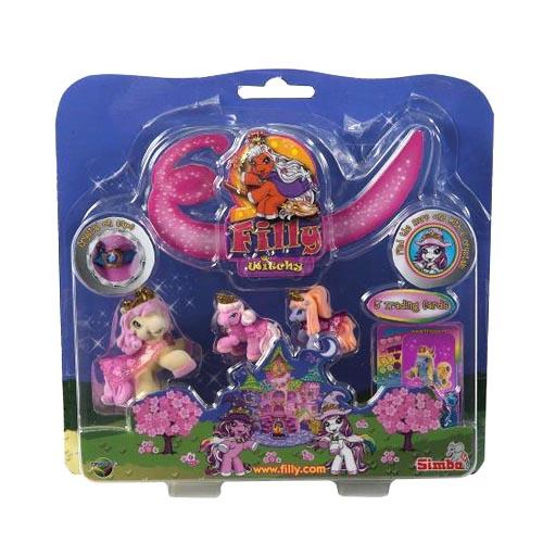 """Filly Witchy 62-03 Филли Ведьмочки Игровой набор """"Семья лошадки Филли Ведьмы"""""""
