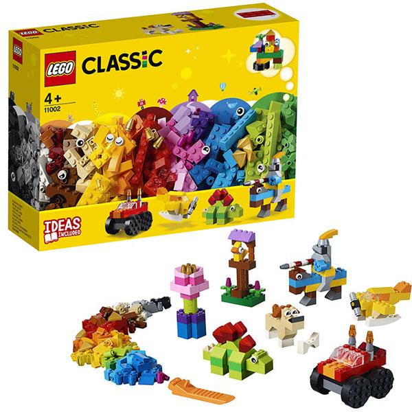 Фото - LEGO Classic 11002 Конструктор ЛЕГО Классик Базовый набор кубиков пластиковый конструктор набор игровой 36 кубиков