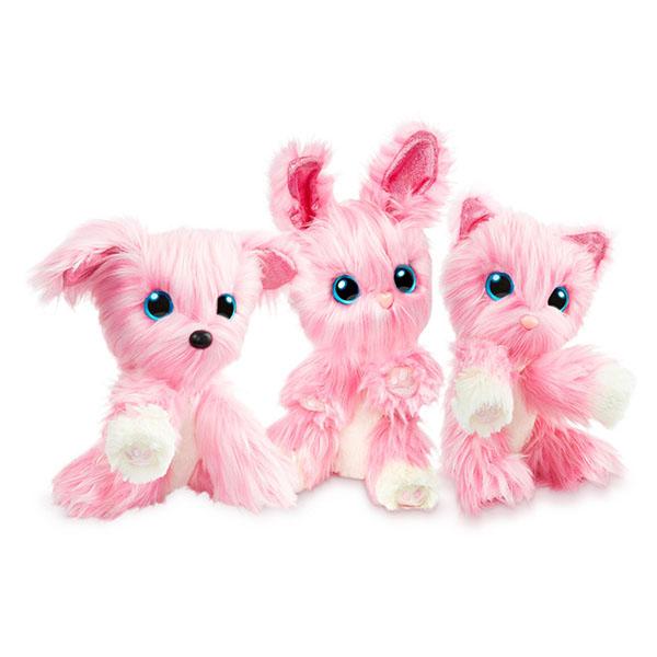 Scruff a Luvs 635SLP01 Пушистик-потеряшка Розовый