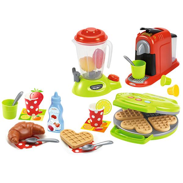 цена на Ecoiffier 2624S Набор кухонной техники - 28 предметов