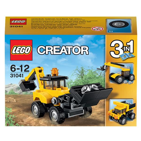 Конструктор Lego Creator 31041 Строительная техника
