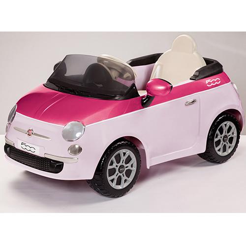 Детский электромобиль Peg-Perego ED1162 Fiat 500 (розовый)