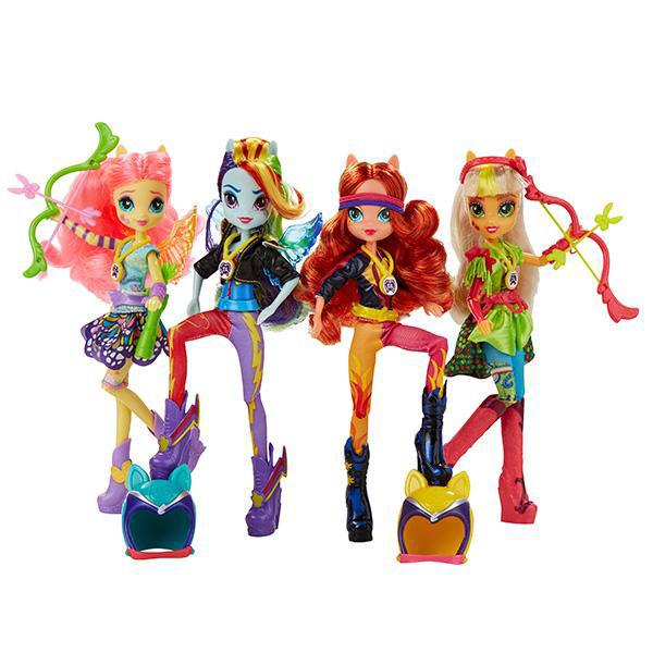 Hasbro My Little Pony B1771 Май Литл Пони Equestria Girls Кукла спорт Вондеркольты (в ассортименте) наборы для творчества fashion angels набор бархатных постеров my little pony equestria girls rainbow rocks