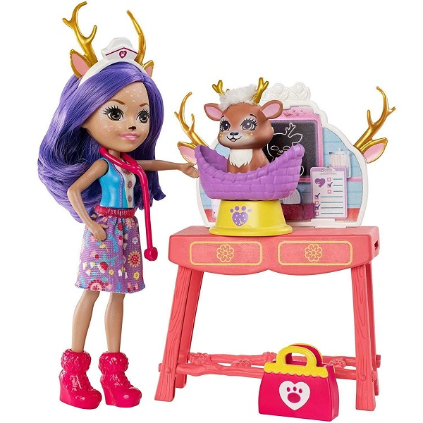 Mattel Enchantimals GBX04 Кукла со зверушкой и тематическим набором кукла enchantimals со зверушкой и тематическим набором fcc62 праздник фламинго