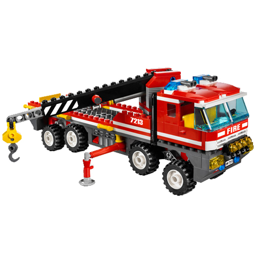 LEGO City 7213 Конструктор ЛЕГО Город Внедорожник и спасательный плот