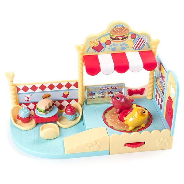 "Chubby Puppies 56733-g Упитанные собачки игровой набор ""Кафе-гамбургер"""