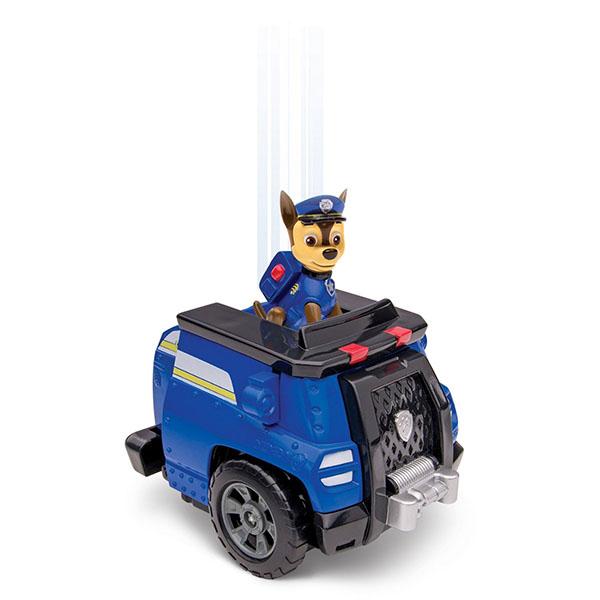 Paw Patrol 16704-b Щенячий патруль Машина-трансформер со звуком синяя spin master nickelodeon paw patrol машина трансформер маршал со звуком 16704