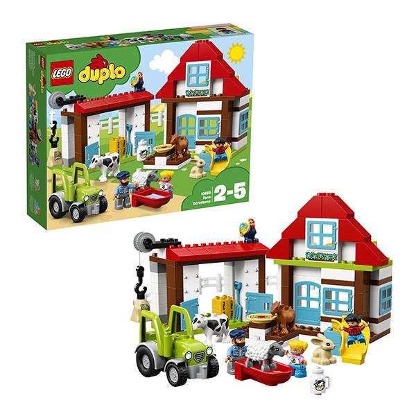 Lego Duplo 10869 Конструктор Лего Дупло День на ферме lego lego duplo 10597 день рождения с микки и минни