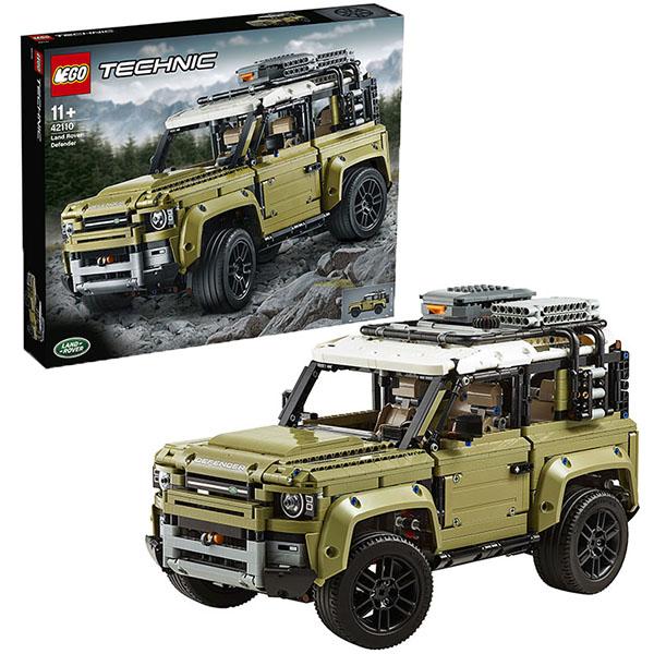 лучшая цена LEGO Technic 42110 Конструктор ЛЕГО Техник LAND ROVER DEFENDER