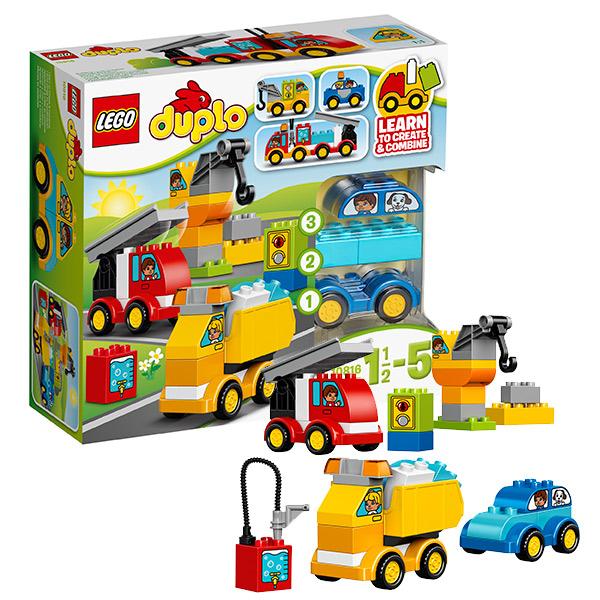 Lego Duplo 10816 Конструктор Лего Дупло Мои первые машинки lego duplo конструктор гоночный автомобиль 10589