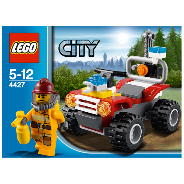 Lego City 4427 Конструктор Лего Город Пожарный квадроцикл