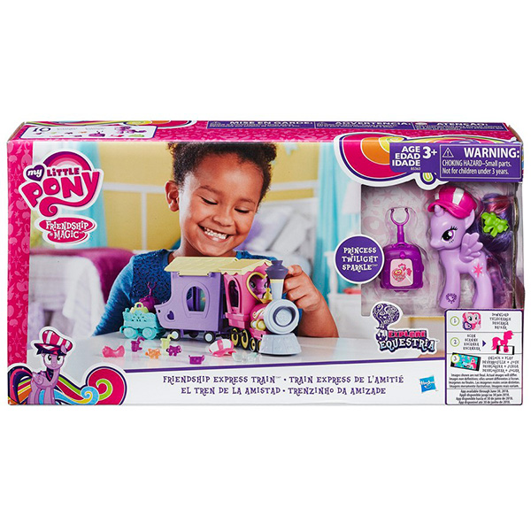 Hasbro My Little Pony B5363 Май Литл Пони Поезд дружбы
