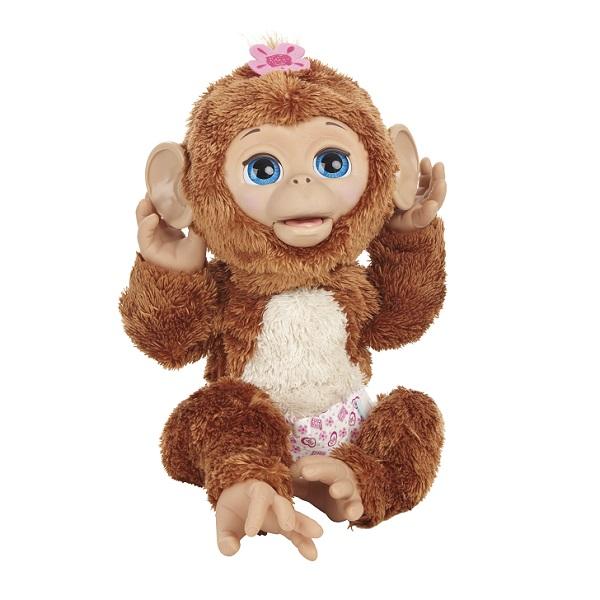 Hasbro Furreal Friends A1650 Смешливая обезьянка hasbro интерактивная игрушка смешливая обезьянка с 4 лет