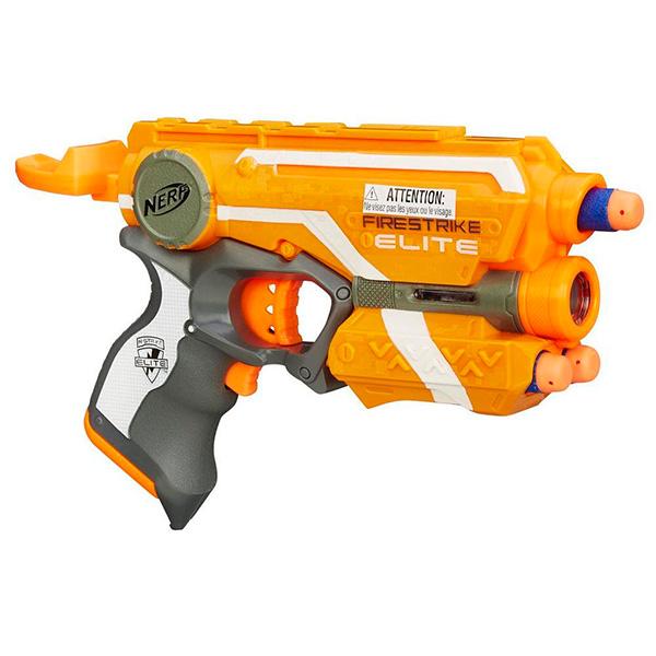 Hasbro Nerf 53378 Нерф Бластер Элит Файрстрайк игрушечное оружие nerf hasbro бластер элит разрушитель