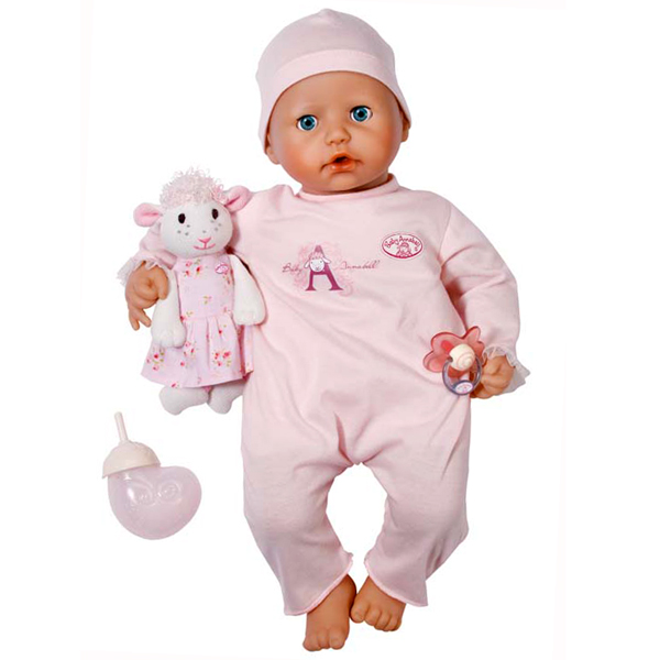 Zapf Creation Baby Annabell 773-680 Бэби Аннабель Кукла многофункциональная 46 см