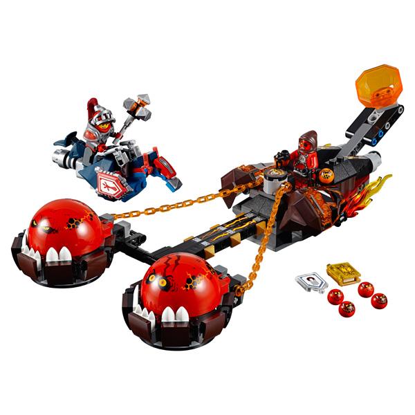 Lego Nexo Knights 70314 Конструктор Лего Нексо Безумная колесница Укротителя