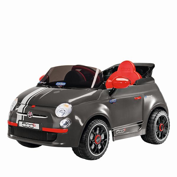 Детский электромобиль Peg-Perego ED1173 Fiat 500 S Grey R/C детский электромобиль peg perego ed1165 corral bearcat