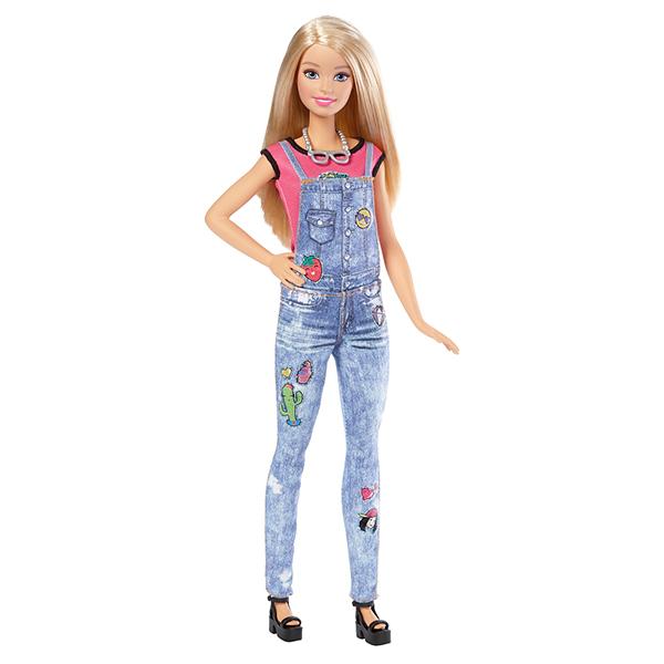 Mattel Barbie DYN93 Барби Игровой набор Эмоджи куклы и одежда для кукол barbie игровой набор для создания цветных нарядов с куклой барби