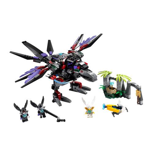 Lego Legends of Chima 70012 Конструктор Похититель Чи Ворона Разара