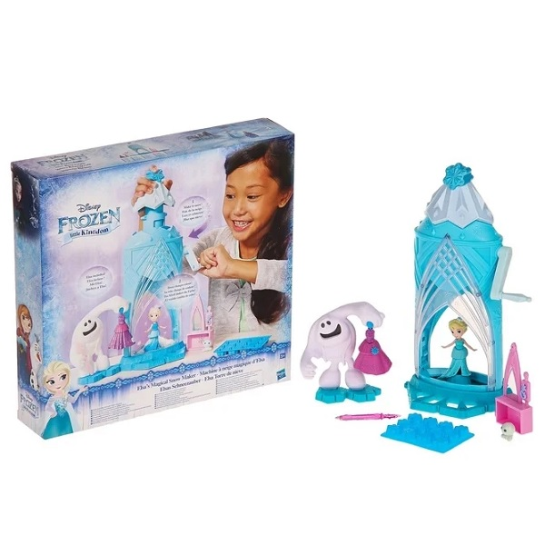 Hasbro Disney Princess C0461 Замок Эльзы Сделай волшебный снег disney frozen игровой набор с куклой замок эльзы сделай волшебный снег