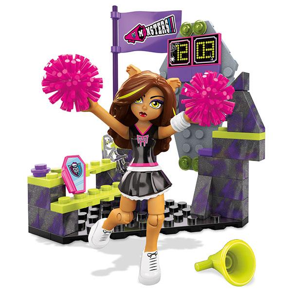 Mattel Mega Bloks DLB78 Мега Блокс Базовые игровые наборы куклы монстер хай дракулаура базовая
