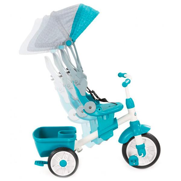 Little Tikes 638695 Литл Тайкс Велосипед 4 в 1, сине-зеленый