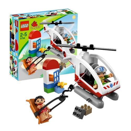 Lego Duplo 5794 Вертолет скорой помощи
