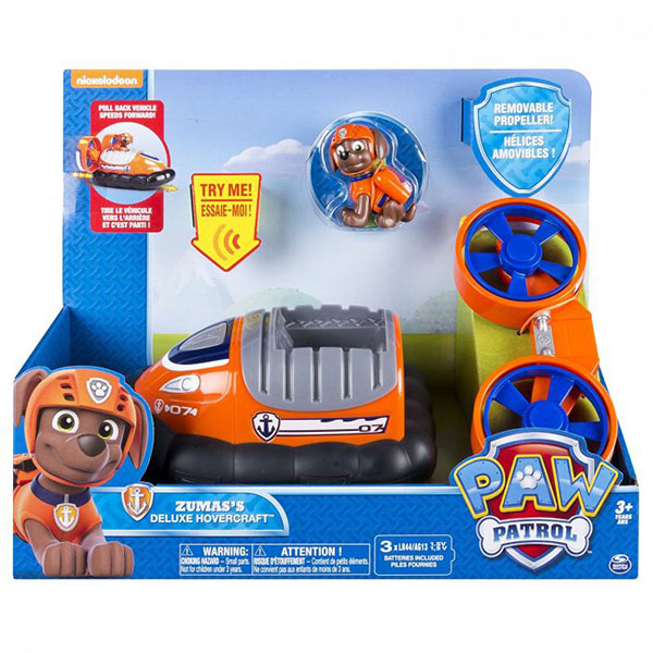 Paw Patrol 16704-o Щенячий Патруль Машина - трансформер со звуком оранжевая