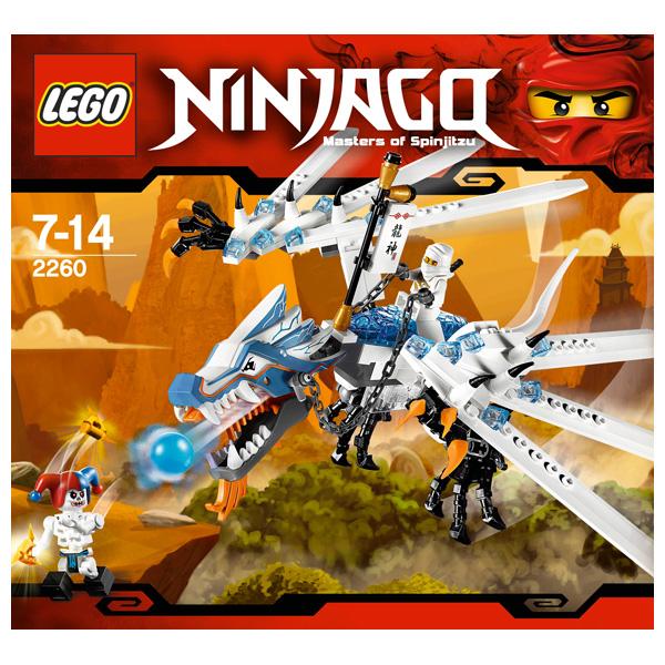 Lego Ninjago 2260 Конструктор Лего Ниндзяго Атака Ледяного Дракона