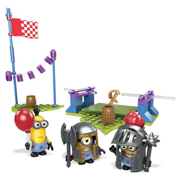Mattel Mega Bloks DPG69 Мега Блокс Миньоны: фигурки персонажей mymei 1 комплект 12шт набор гадкий я 2 миньоны рисунок игрушки в розницу 96408