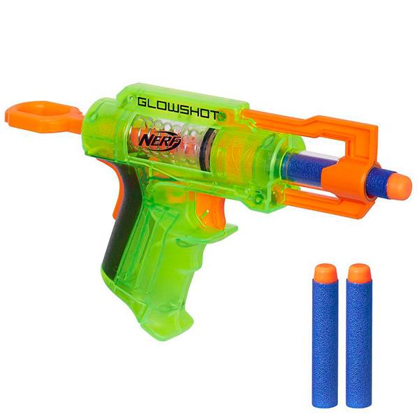 Hasbro Nerf B4615 Нерф Элит Глоушот (бластер) (в ассортименте) игрушечное оружие nerf hasbro бластер элит разрушитель