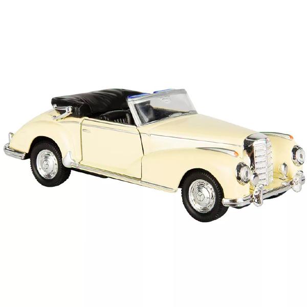 Welly 42341 Велли Модель винтажной машины 1:34-39 Mercedes-Benz 300S 1955 welly 84002 велли радиоуправляемая модель машины 1 24 mercedes benz sls amg