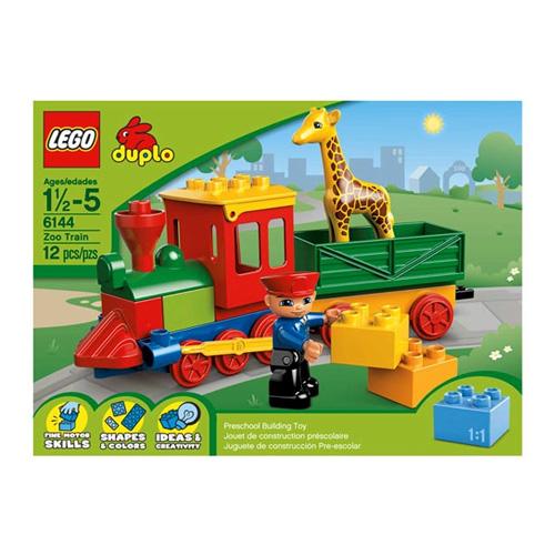 Lego Duplo 6144 Зоо-паровозик