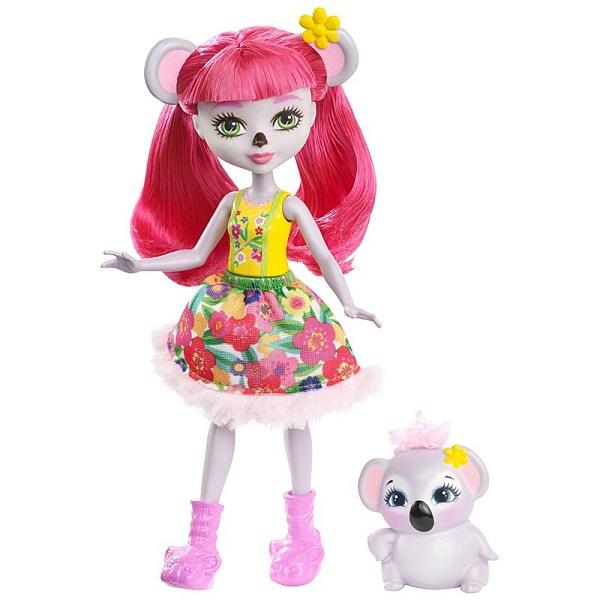 Mattel Enchantimals FNH24 Кукла с питомцем - Коала mattel mattel кукла ever after high мишель мермейд
