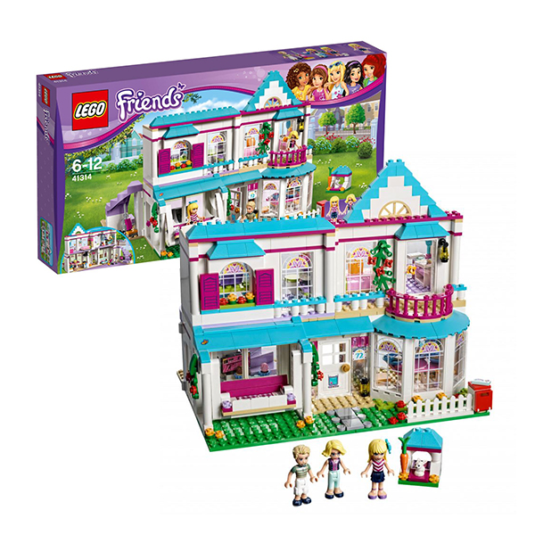 Lego Friends 41314 Конструктор Лего Подружки Дом Стефани led photon ultrasonic facial massager skin care cleaner anti aging wrinkle remover beauty massager