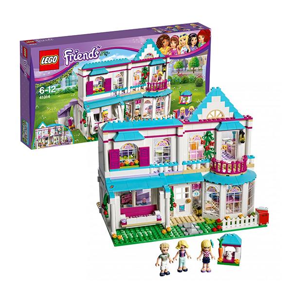 Lego Friends 41314 Конструктор Лего Подружки Дом Стефани кольца для занавесок moroshka кольца для занавесок