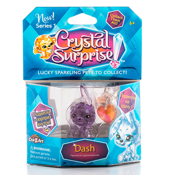Crystal Surprise 45701 Кристал Сюрприз Фигурка Кролика + подвески