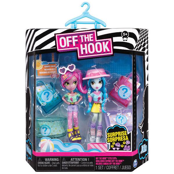 """Off the Hook 6045574-LK Набор кукол """"Стильные лучшие подружки"""" (Летние каникулы)"""